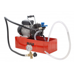 Electric pressure test pump, self priming, made in Italy up to 20 bar
