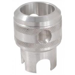 Adapter mit Drehkreuz für Ventil-Ausdrehwerkzeug