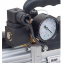Vacuum Pump for air conditioning with vacuum gauge and solenoid valve