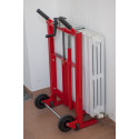 Compact cart for radiators Termolift P