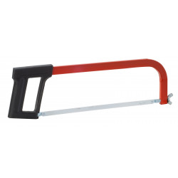 Professional hacksaw frame with shock-proof plastic handle