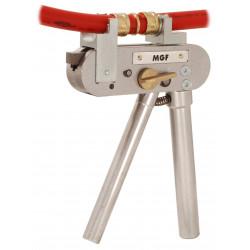 Hand-Axialpress zur Herstellung von Druckhülsenverbindungen