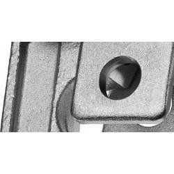 Standard Pressbacke mit  zwei Segmenten, kompatibel zu den Presswerkzeugen von Rems, Ridgid, Rothenberger
