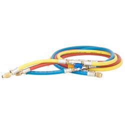 Charging hose - 1,5m R422, R407, R134... - 1/4'' According to SAE J2196