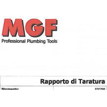 Certificati di taratura strumenti per FGAS e ISO